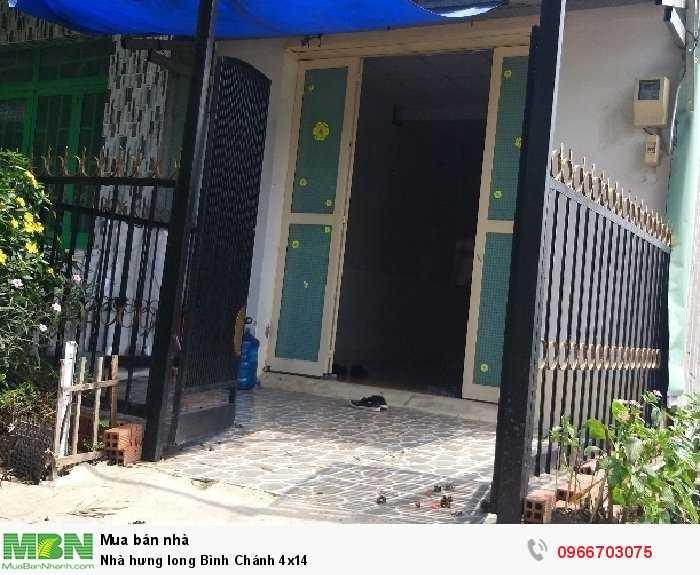Nhà hưng long Bình Chánh 4x14