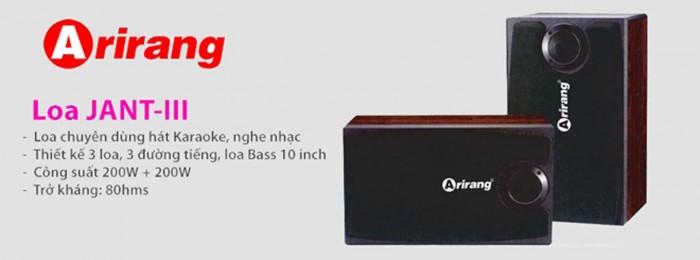 Loa Arirang Jant III chính hãng 100%, mới 100%2