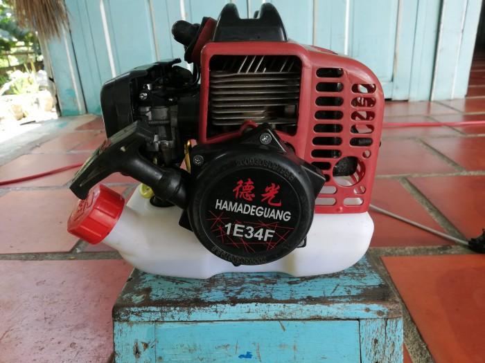 Đầu máy cắt cỏ 2 xi lanh tự chế3