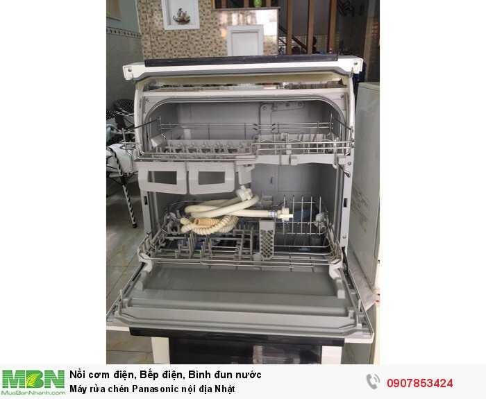 Máy rửa chén Panasonic nội địa Nhật2