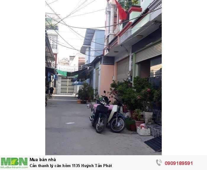Cần thanh lý căn hẻm 1135 Huỳnh Tấn Phát