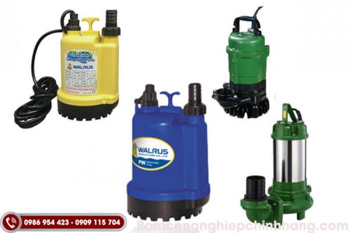 Cách chọn mua và sử dụng máy bơm chìm nước thải