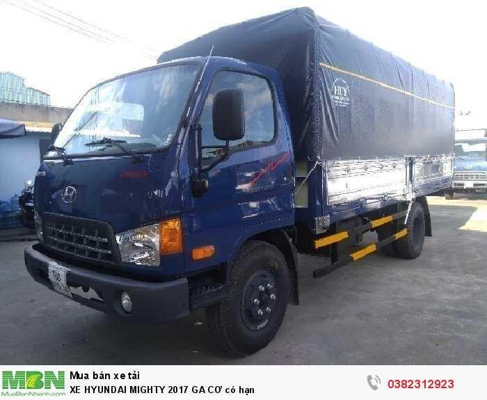 Xe Hyundai Mighty 2017 Ga Cơ Có Hạn