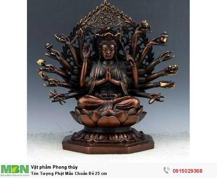 Tôn Tượng Phật Mẫu Chuẩn Đề 25 cm0