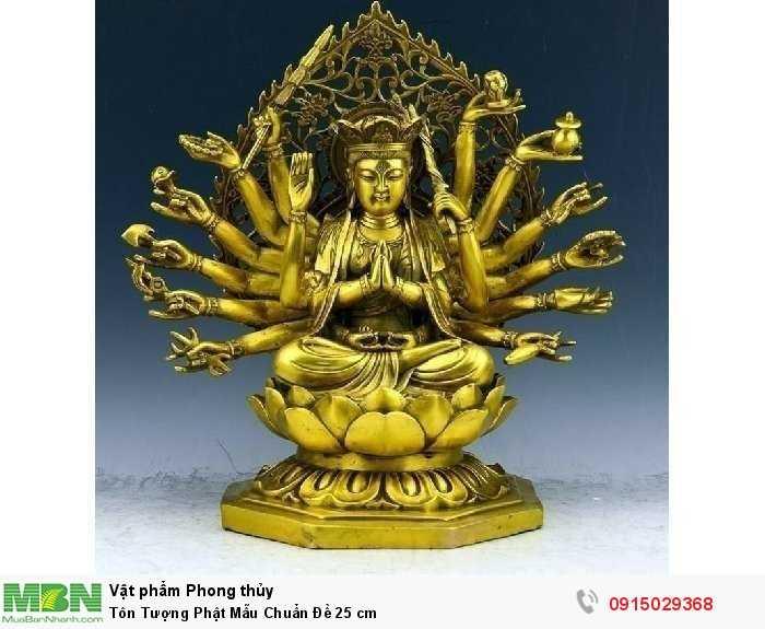 Tôn Tượng Phật Mẫu Chuẩn Đề 25 cm1