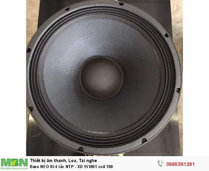 Bass NEO Bi 4 tấc NTP - XD 151001 coil 1002
