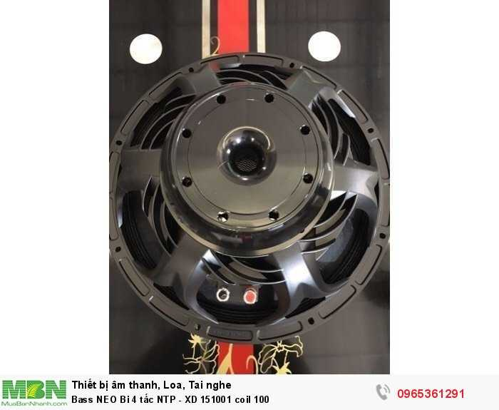 Bass NEO Bi 4 tấc NTP - XD 151001 coil 1004