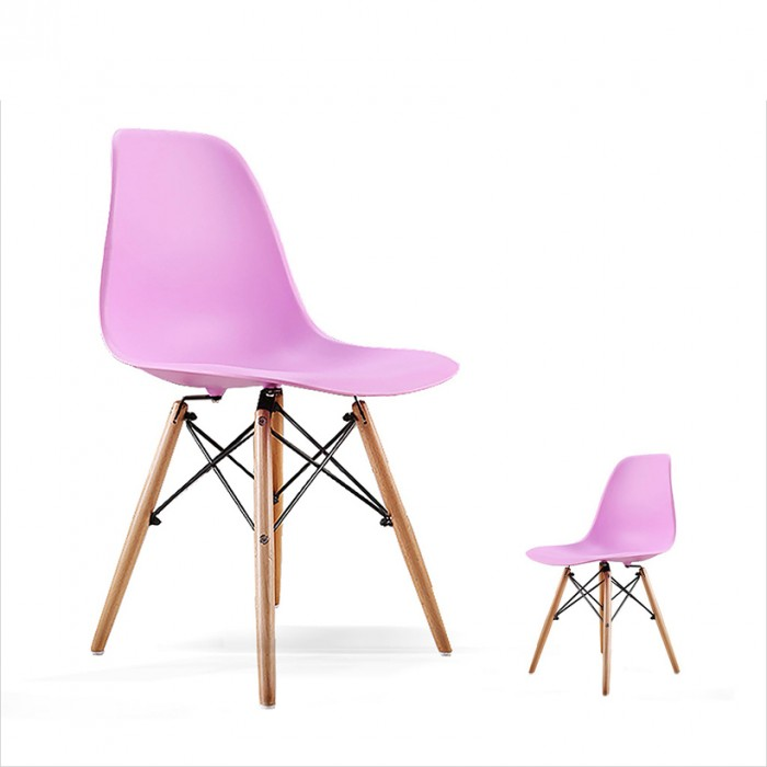 ghế nhựa chân gỗ HGH 05