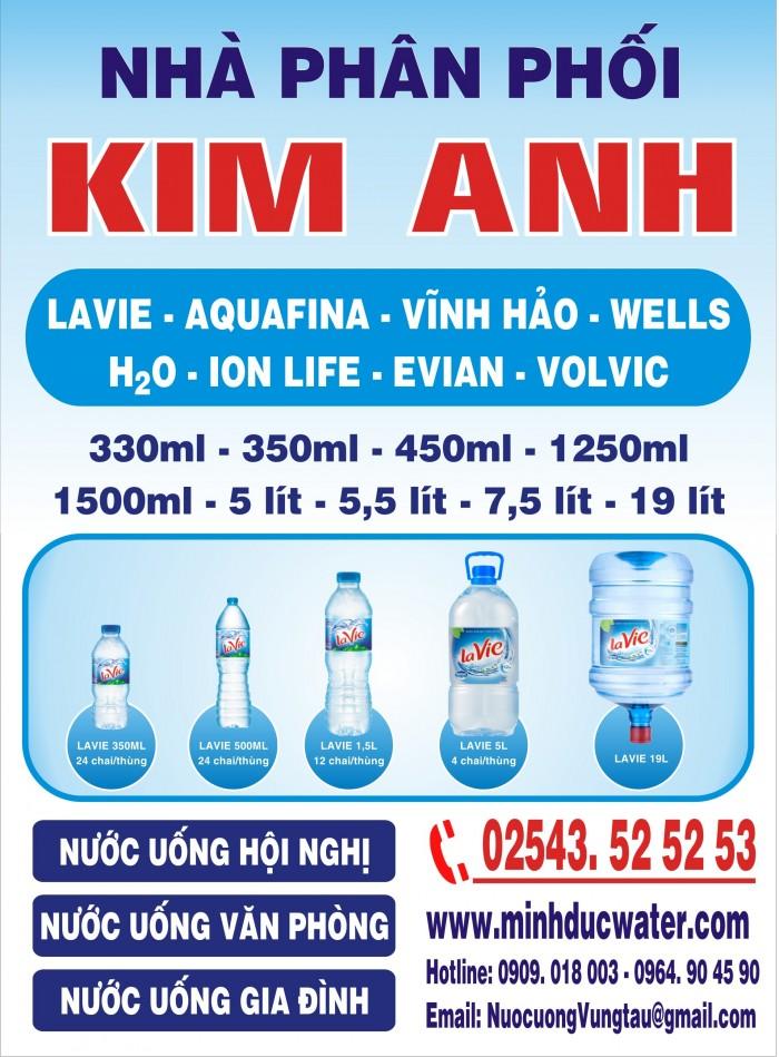 Cần tìm đại lý, tạp hóa phân phối nước uống tại Bà Rịa Vũng Tàu