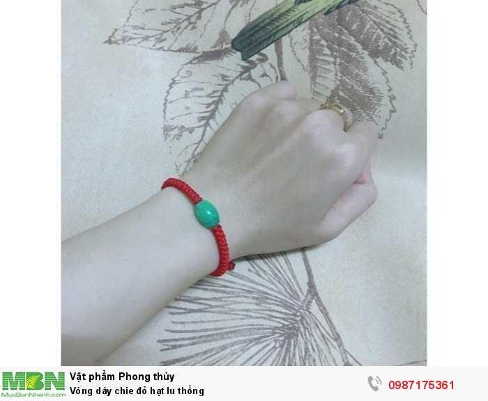 Vòng dây chie đỏ hạt lu thống1