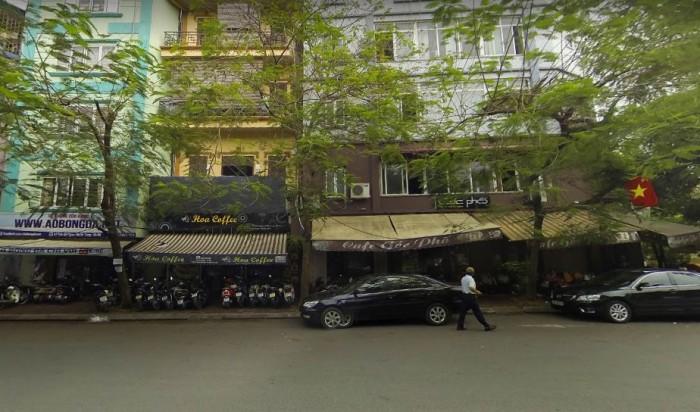 bán đất Phố Trần Đại Nghĩa 125m2 Cấp 4, mặt tiền 4,5m( Ô tô tránh+ Sổ đẹp ), 110 triệu/m2.