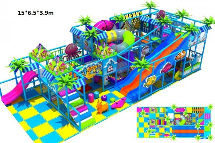 Thiết kế khu vui chơi trẻ em, thiết kế khu trò chơi liên hoàn0