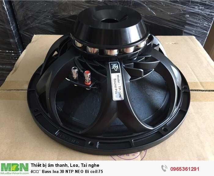 Bass loa 30 NTP NEO Bi coil 750