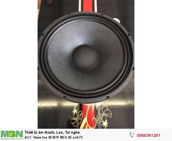 Bass loa 30 NTP NEO Bi coil 754