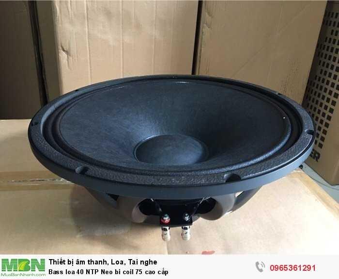 Bass loa 40 NTP Neo bi coil 75 cao cấp3