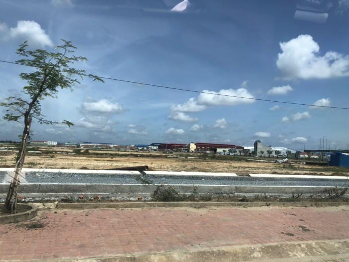 Bán đất nền sổ hồng ngay KCN Hải Sơn-Tân Đức,giá 1.5ty/100m2,đường 12m