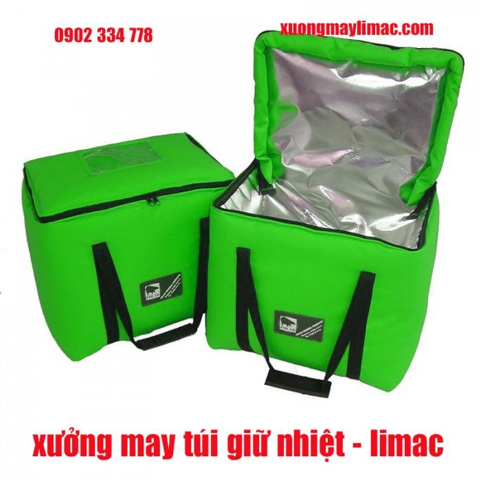 Xưởng may túi giữ nhiệt, túi giữ lạnh, túi đựng hộp cơm, túi đựng sữa, túi giữ nhiệt giao hàng