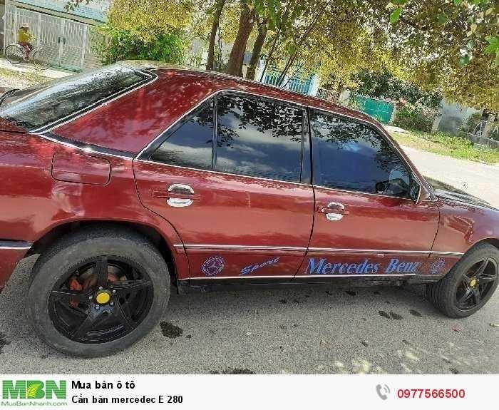 Cần bán mercedec E 280