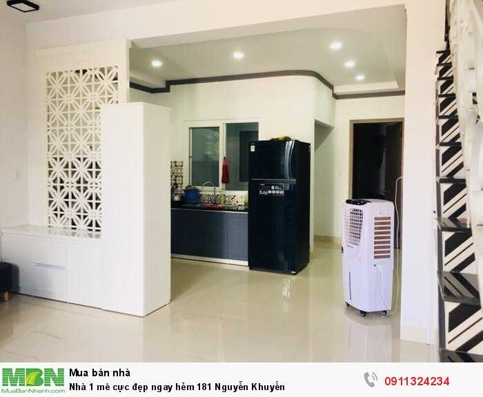 Nhà 1 mê cực đẹp ngay hẻm 181 Nguyễn Khuyến