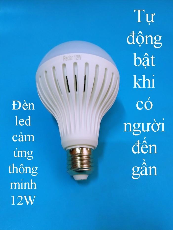 Bóng đèn thông minh cảm ứng người 12W0