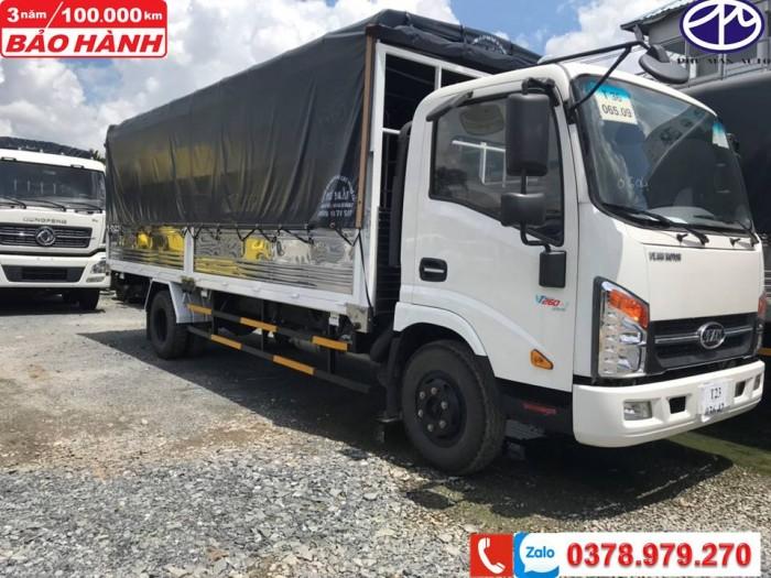 Xe tải VEAM 1T9 - Thùng dài 6m05 -Giá TỐT