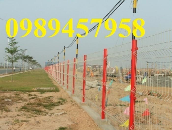 Sản xuất hàng rào sơn tĩnh điện  phi 5 ô 75x200, hàng rào mạ kẽm nhúng nóng ô 75x2004