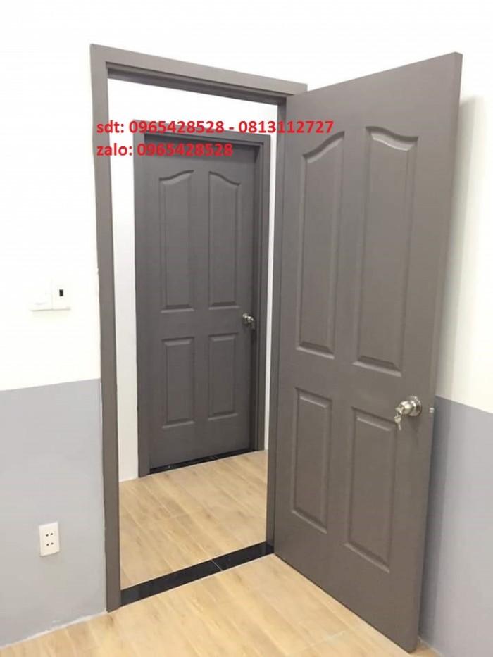 cửa gỗ công nghiệp hdf giá rẽ dùng cho cửa phòng1
