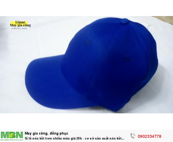 Đặt nón kết theo yêu cầu - Xưởng may Limac