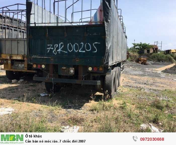 Cần bán lô móc rào. 7 chiếc đời 2007