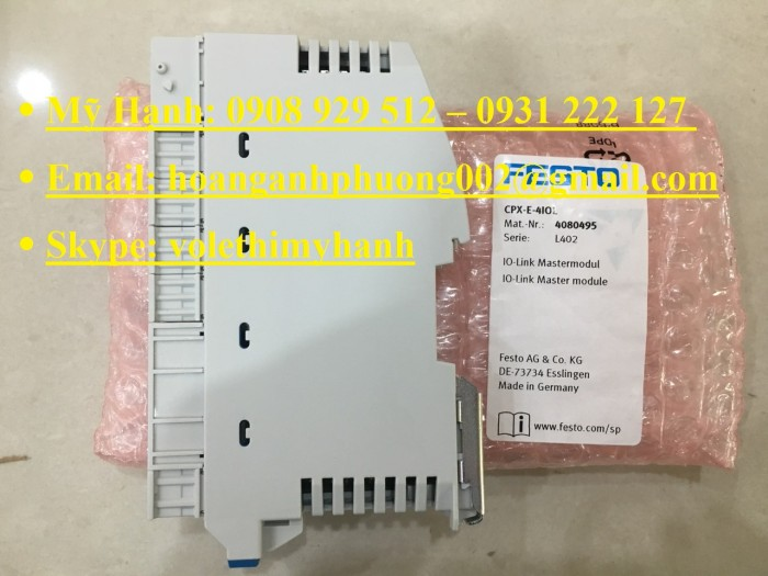 Van bật tắt Festo MS6-EE-1/2-V24-S7