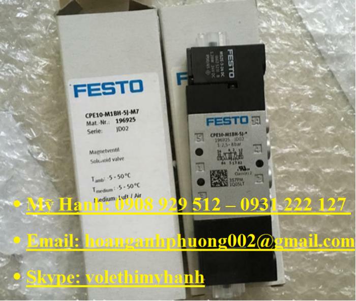 Van bật tắt Festo MS6-EE-1/2-V24-S23