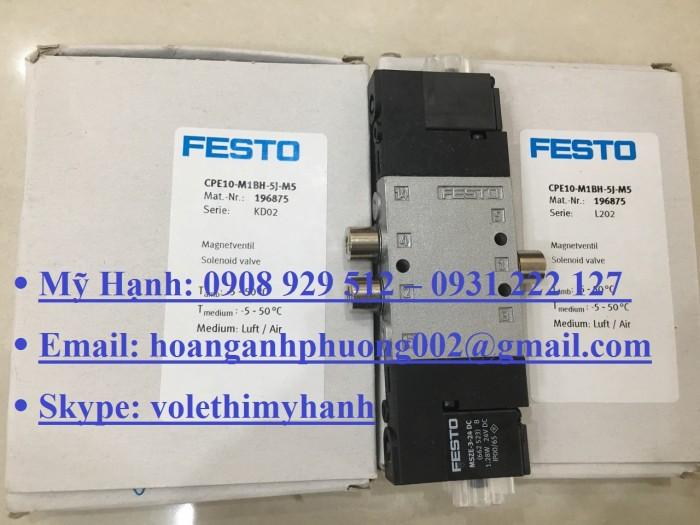 Van bật tắt Festo MS6-EE-1/2-V24-S16