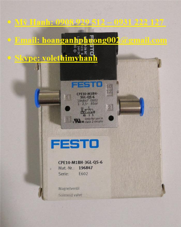Van bật tắt Festo MS6-EE-1/2-V24-S10