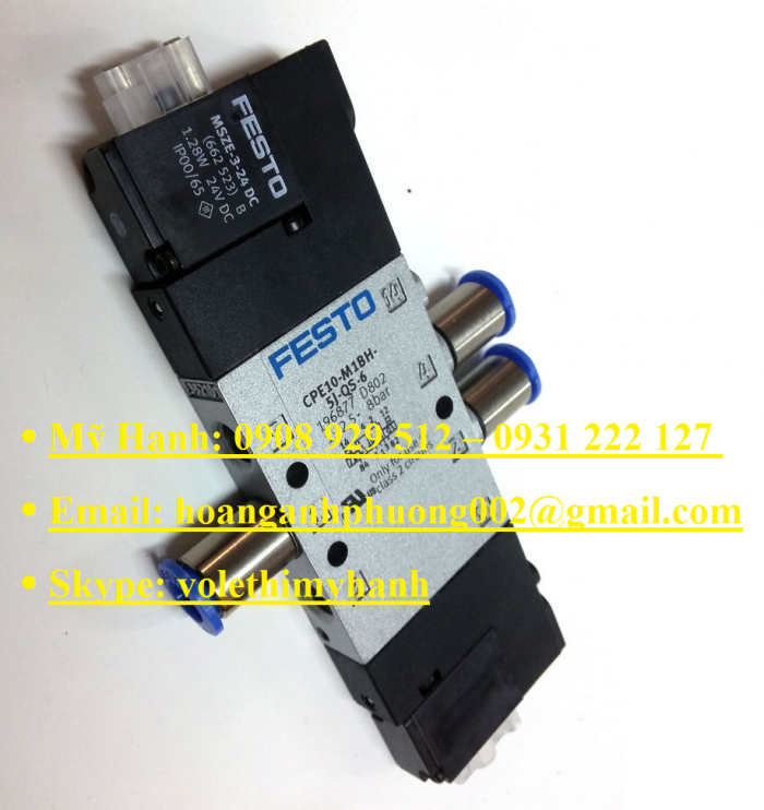 Van bật tắt Festo MS6-EE-1/2-V24-S20