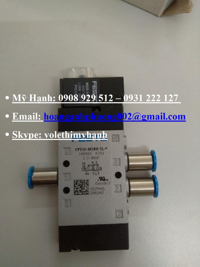 Van bật tắt Festo MS6-EE-1/2-V24-S11