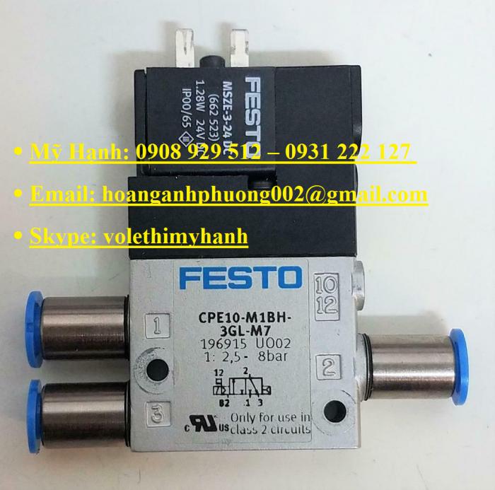 Van bật tắt Festo MS6-EE-1/2-V24-S19