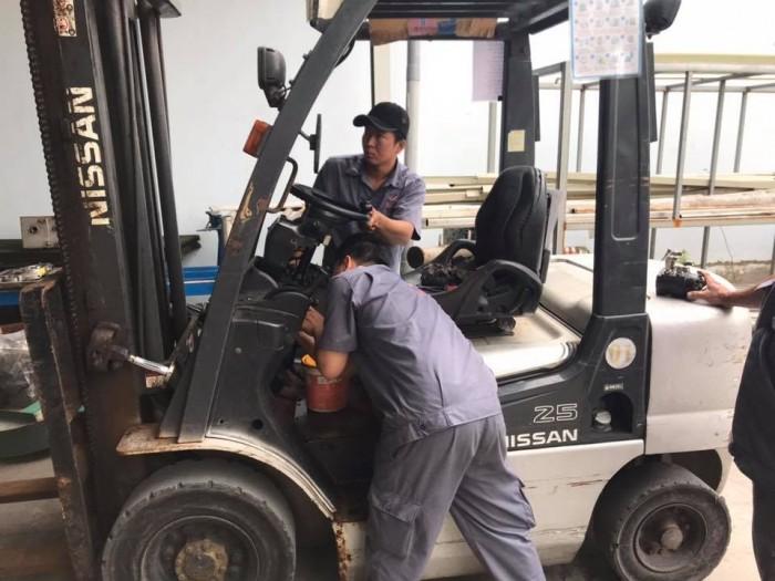Cho thuê xe nâng dầu Trà Ôn Vĩnh Long, miền Tây giá rẻ