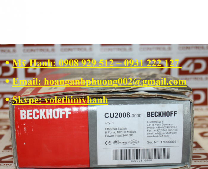 Module Beckhoff CU201612
