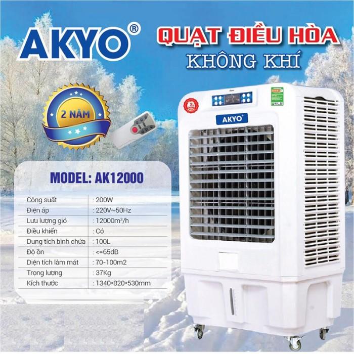 Quạt điều hòa không khí Thái Lan AKYO Ak 12000 chuyên dùng cho nhà xường,nhà hàng làm mát không gian rông0