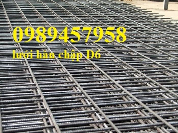 Sản xuất lưới thép hàn phi 8 ô 150x150, 200x200 ,Lưới D8 gân 200*2008