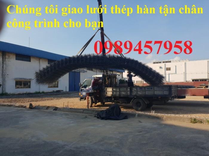 Lưới hàn chập phi 8 ô 200x200 lưới trơn, lưới gân giao hàng 3-5 ngày0