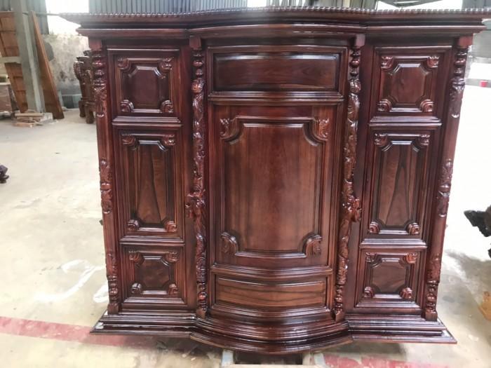Tủ thờ gỗ cẩm lai đẹp giá rẻ1