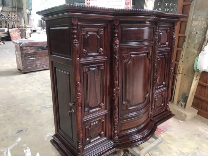 Tủ thờ gỗ cẩm lai đẹp giá rẻ2