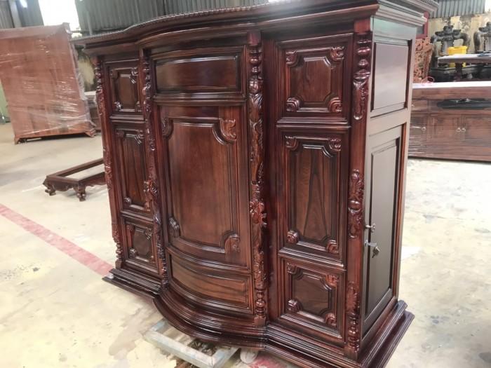 Tủ thờ gỗ cẩm lai đẹp giá rẻ0