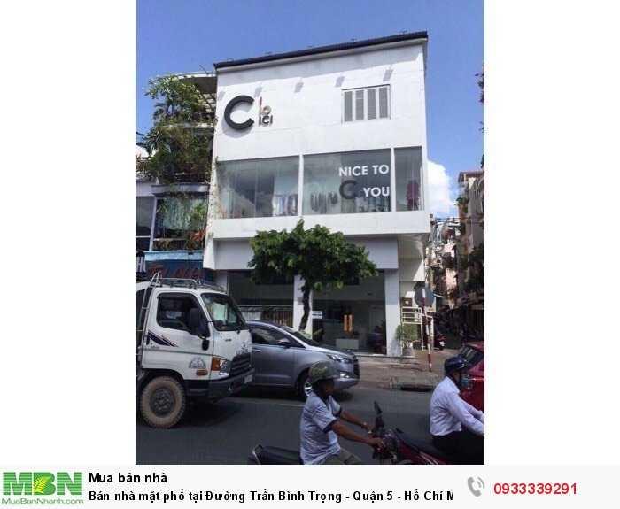 Bán nhà mặt phố tại Đường Trần Bình Trọng - Quận 5 - Hồ Chí Minh