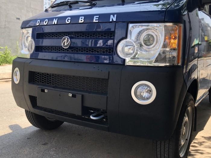 DongBen 870kg Thùng Mui Bạt sản xuất năm 2018 Số tay (số sàn) Xe tải động cơ Xăng