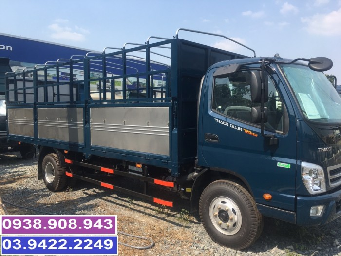 Bán xe tải 7 tấn 5 thùng dài 6m2 trả góp tại Thaco Long An Tiền Giang Bến Tre