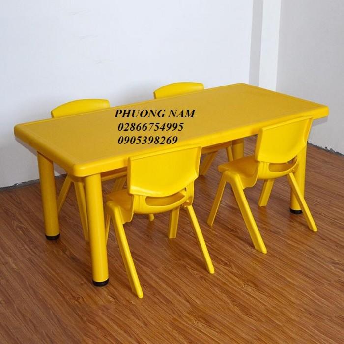 Bàn ghế cho trẻ mầm non3