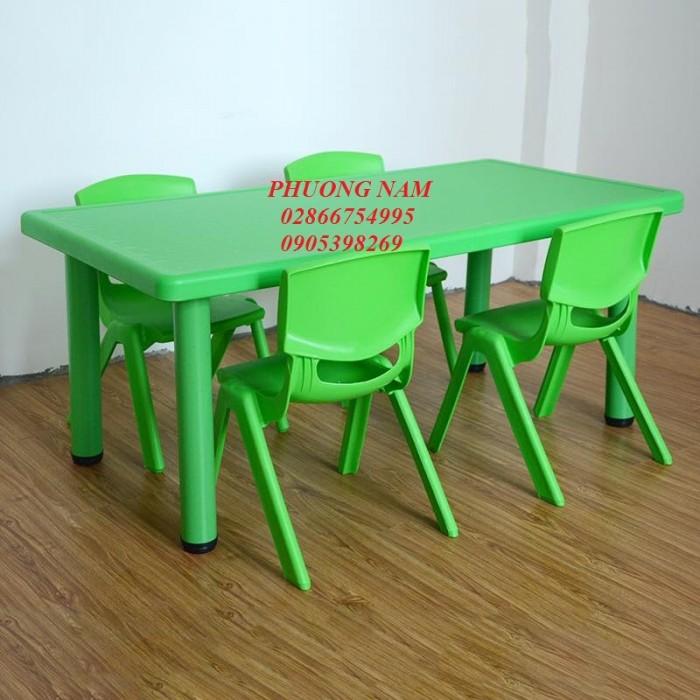 Bàn ghế cho trẻ mầm non1