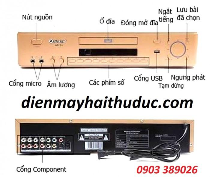 Đầu karaoke 5 số Arirang AR-36 giá cả quá rẻ bán tại Điện Máy Hải chỉ có 900K/ trọn bộ0